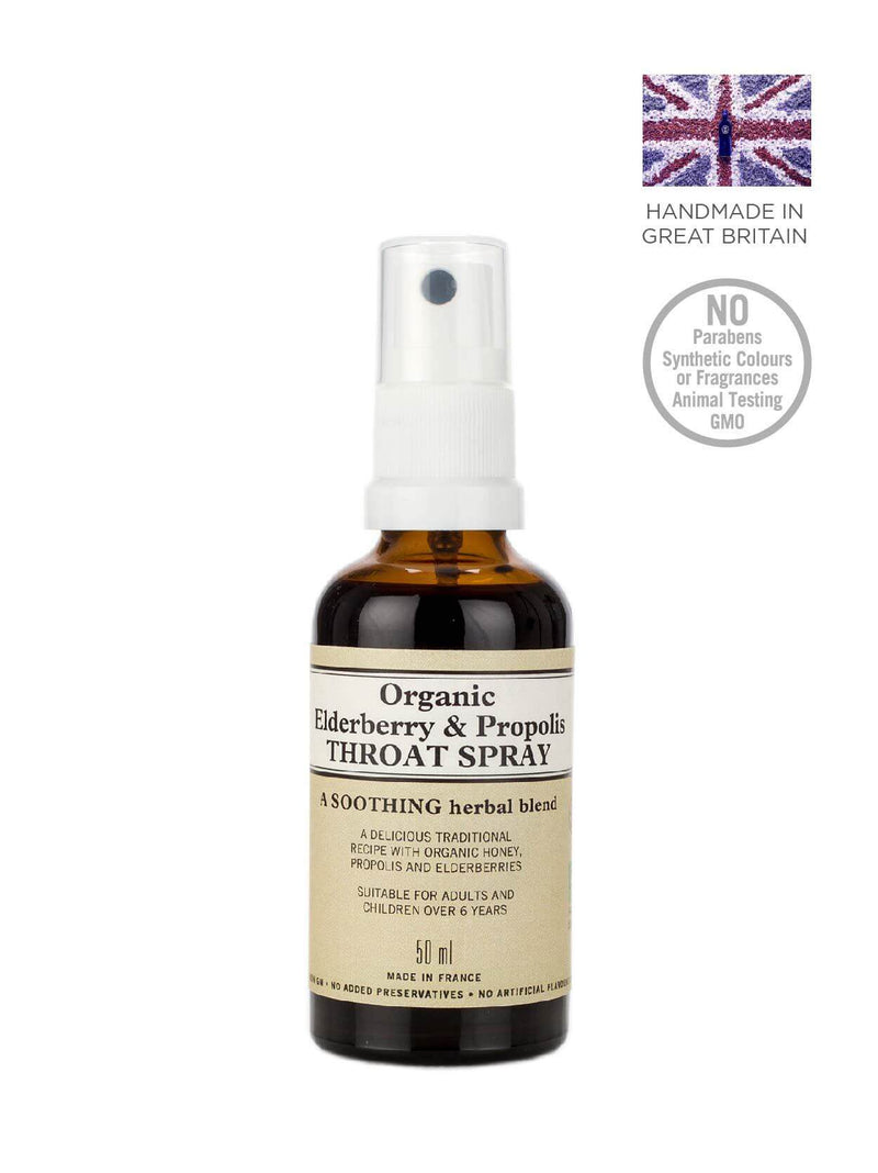 Organic Elderberry and Propolis Throat Spray
