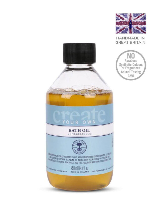 Create Your Own Bath Oil