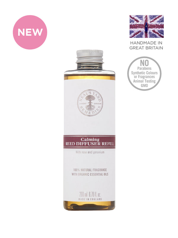 NEW Calming Aromatherapy Reed Diffuser Refill 200ml