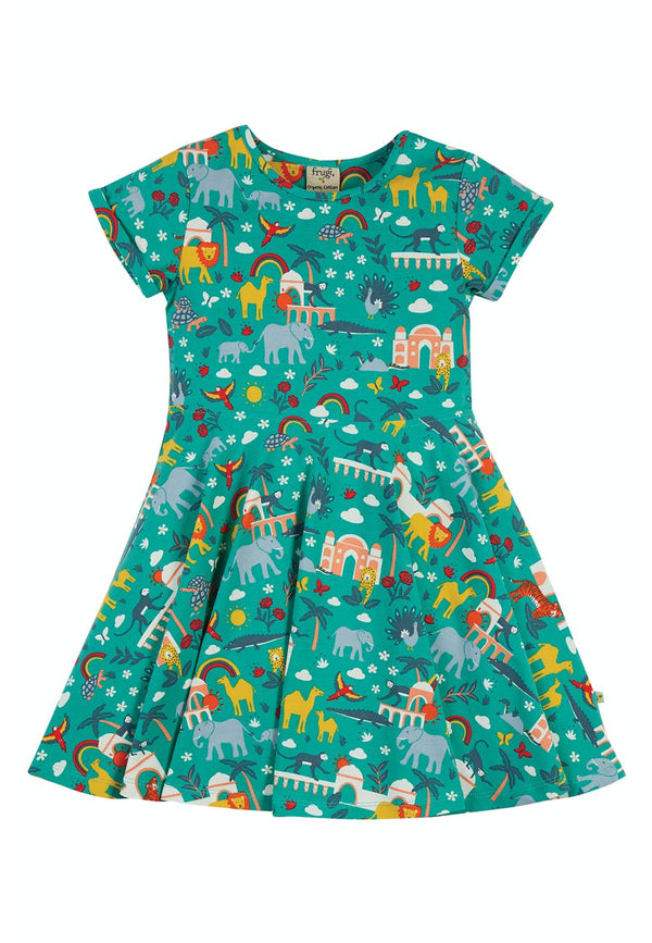 Spring Skater Dress, Jewel India