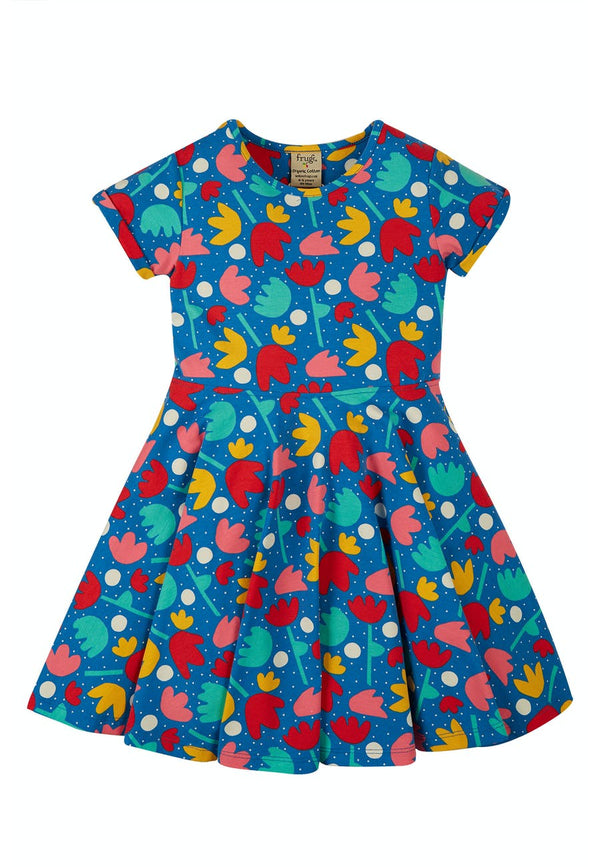 Spring Skater Dress, Lotus Bloom