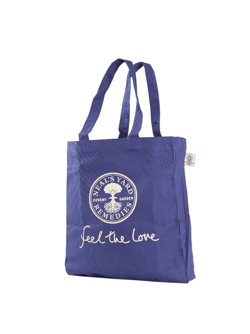 Blue Cotton Tote