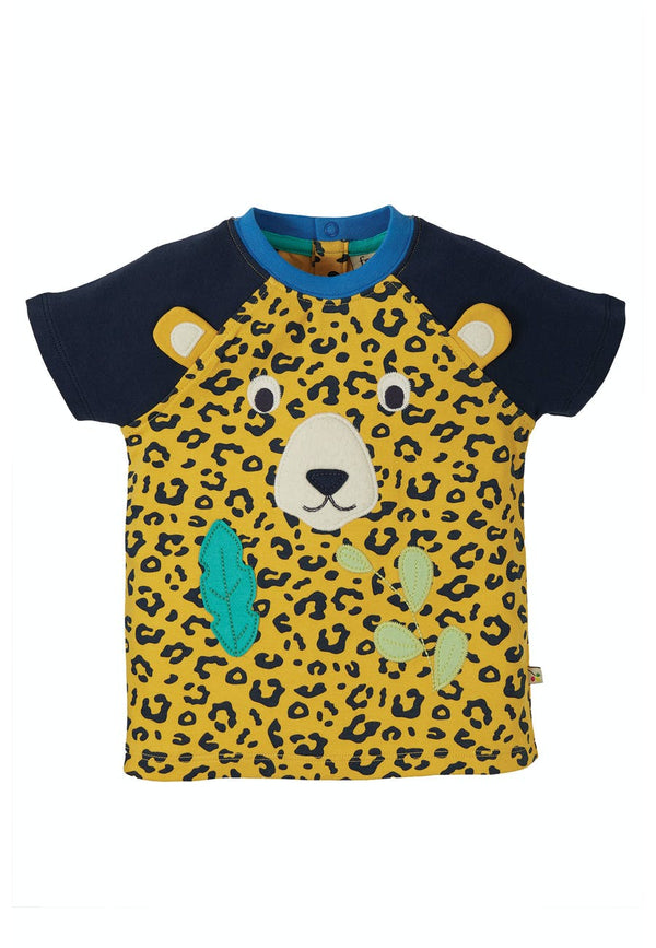 Happy Raglan T-Shirt, Leopard Spot