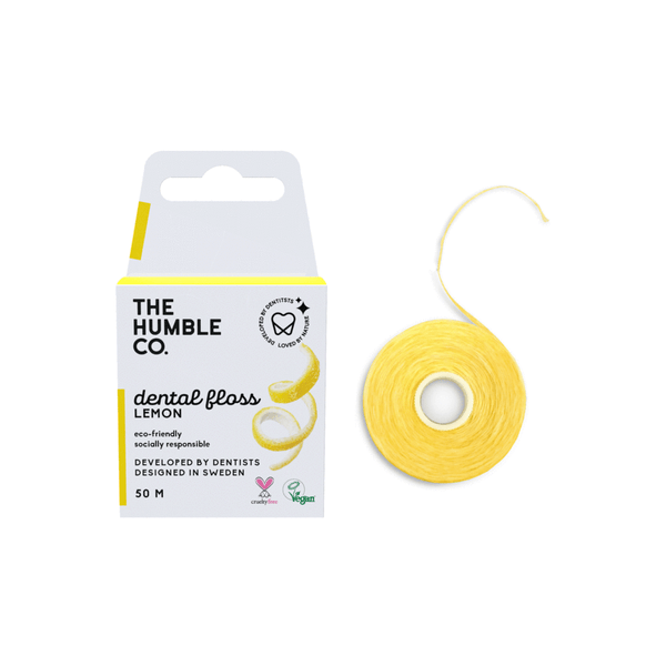 Humble dental floss - lemon 50 m
