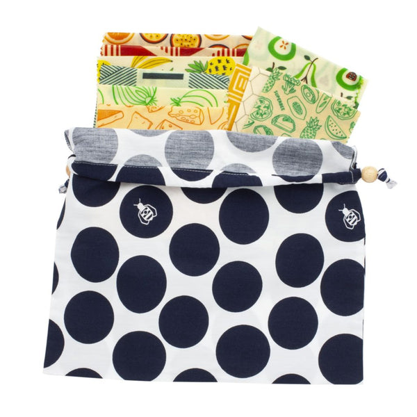 Superbee Family Beeswax Wrap Set - Family Crisper