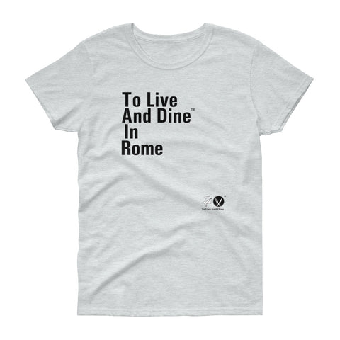To Live And Dine In Rome