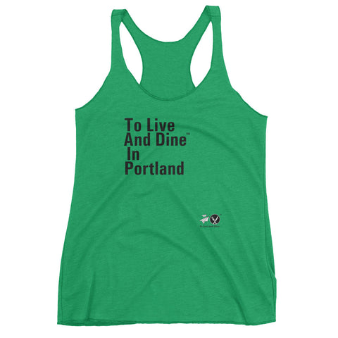 To Live And Dine In Portland