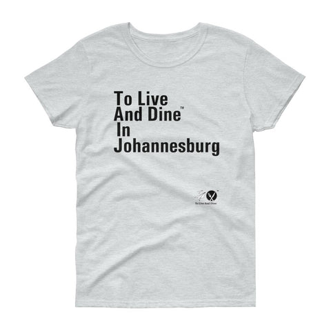 To Live And Dine In Johannesburg