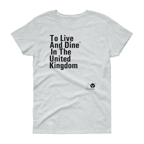 To Live And Dine In The United Kingdom