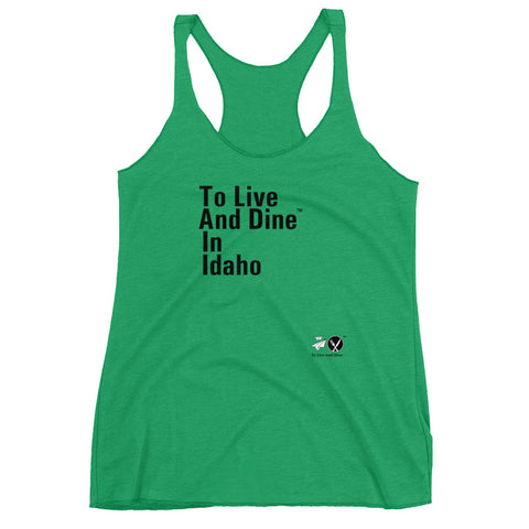 To Live And Dine In Idaho