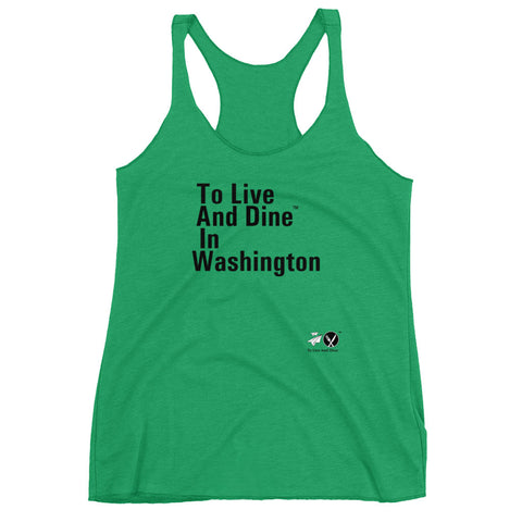 To Live And Dine In Washington