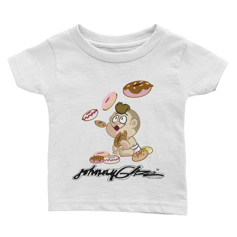 Johnny Glaze Blowing Donuts Infant Tee