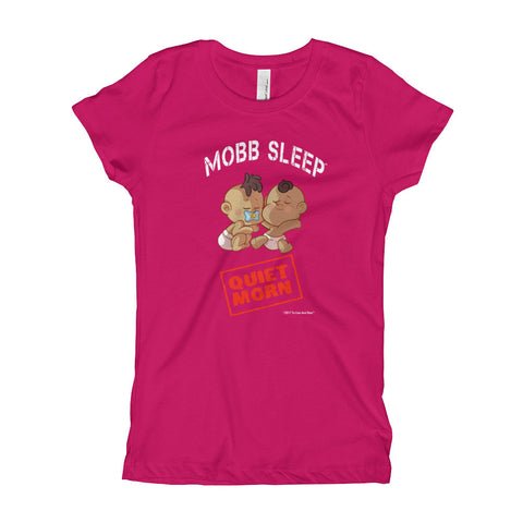 Mobb Sleep Quiet Morn Girl's T-Shirt