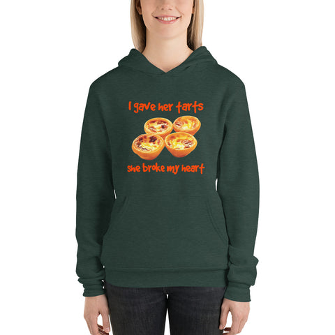 I Gave Her Tarts She Broke My Heart Women Hoodie Sweatshirt