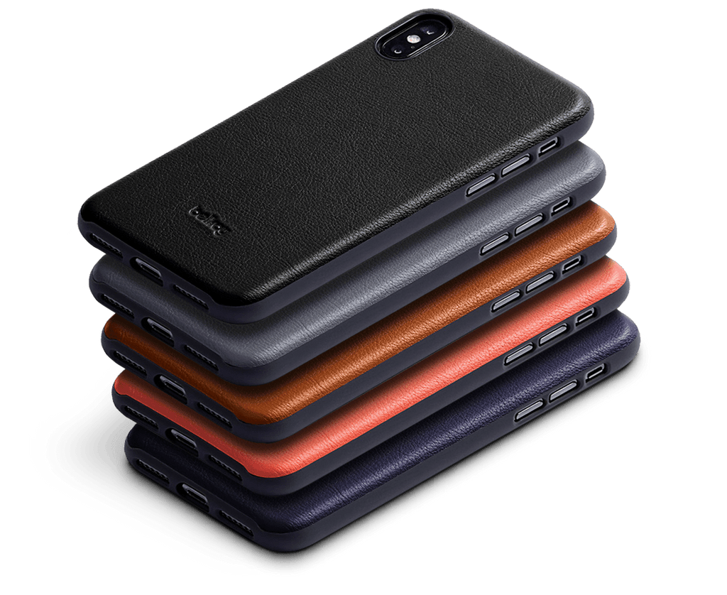 The new iPhone X-XS, XR & XS Max Cases are Bellroy's slimmest yet