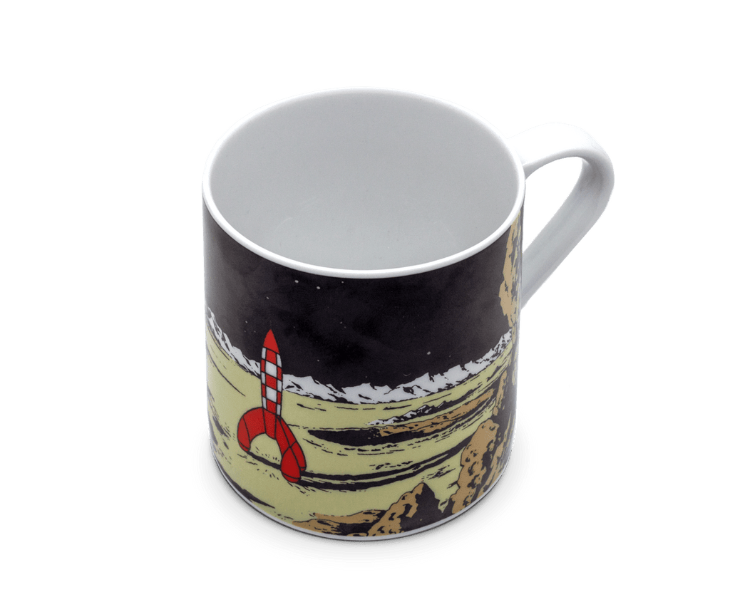 The Adventures of Tintin Moon Rocket Coffee Mug