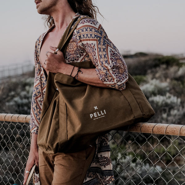 Compostable Shopping Tote, Beach Bag & Insulated Lunch Bags