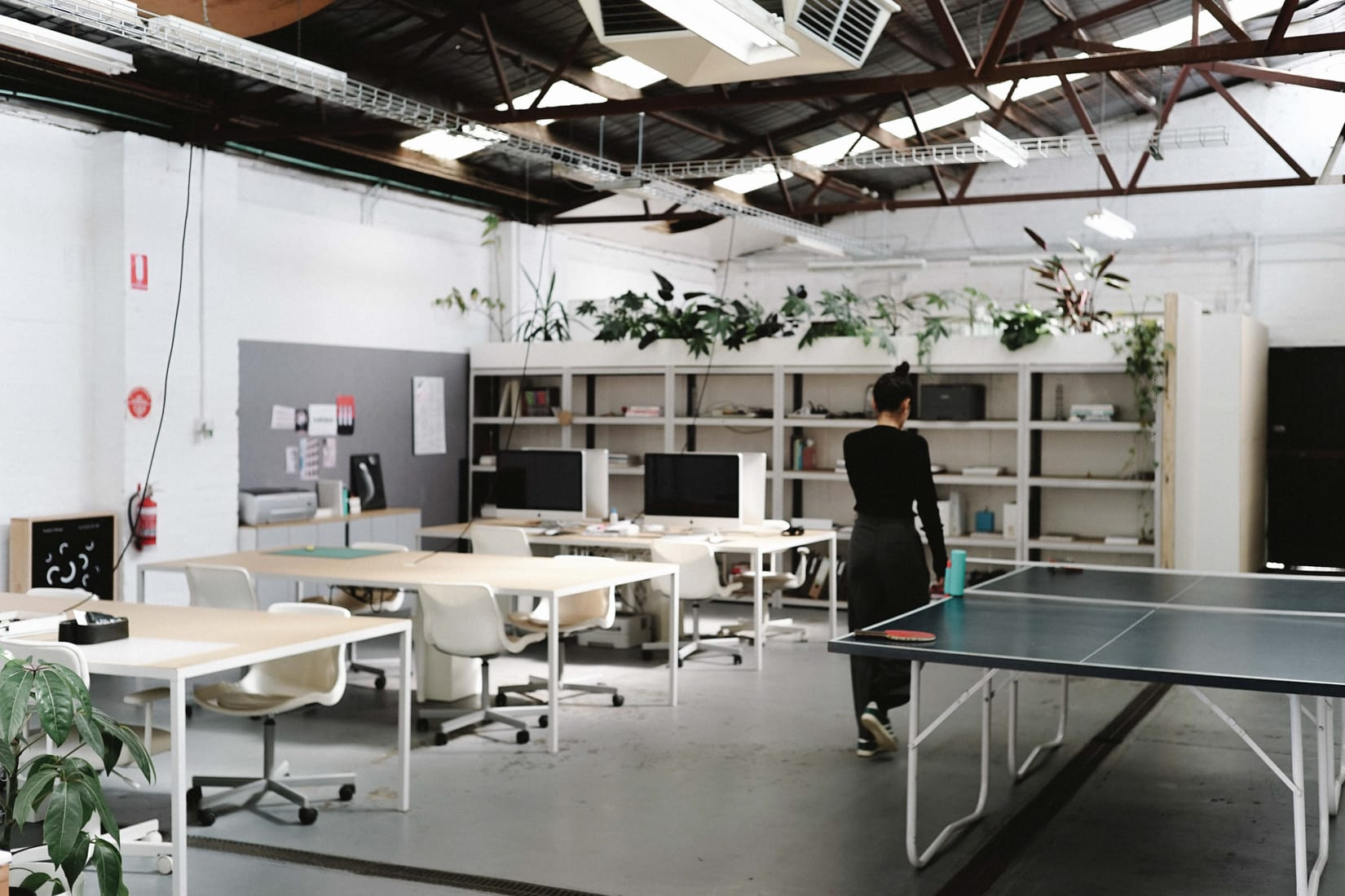 The Aark Collective studio space in Melbourne, Australia.