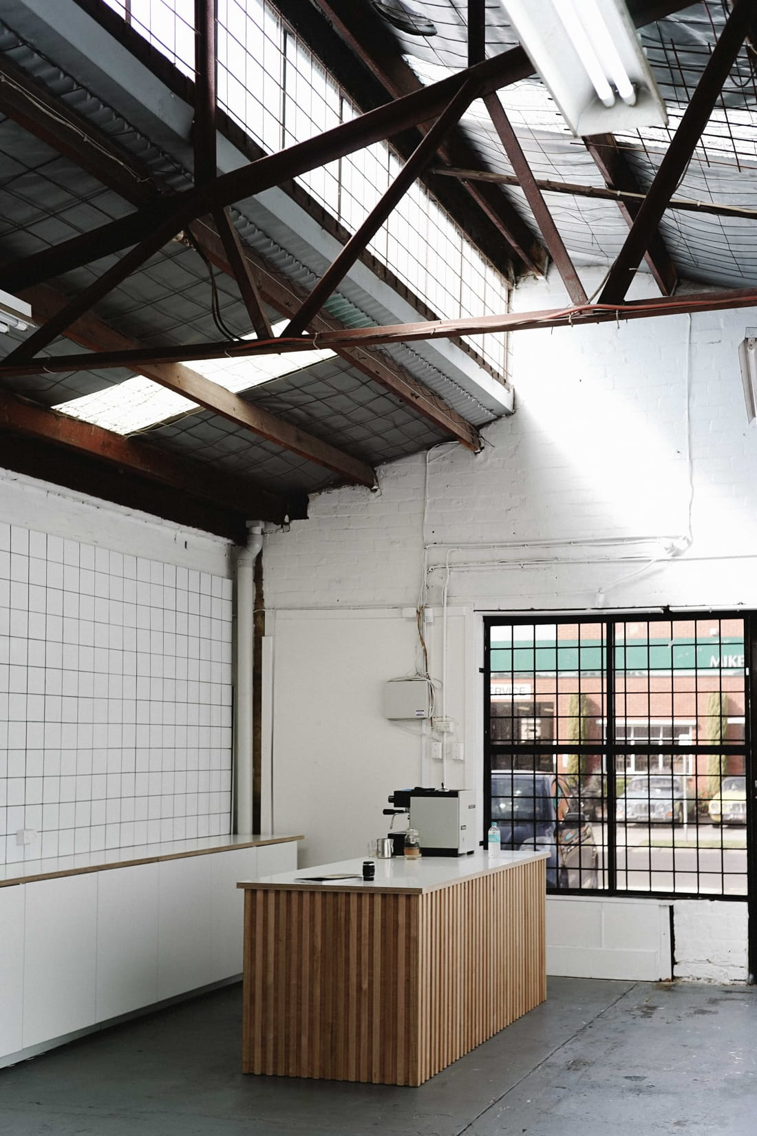 Entrance to the Aark Collective studio in Melbourne, Australia