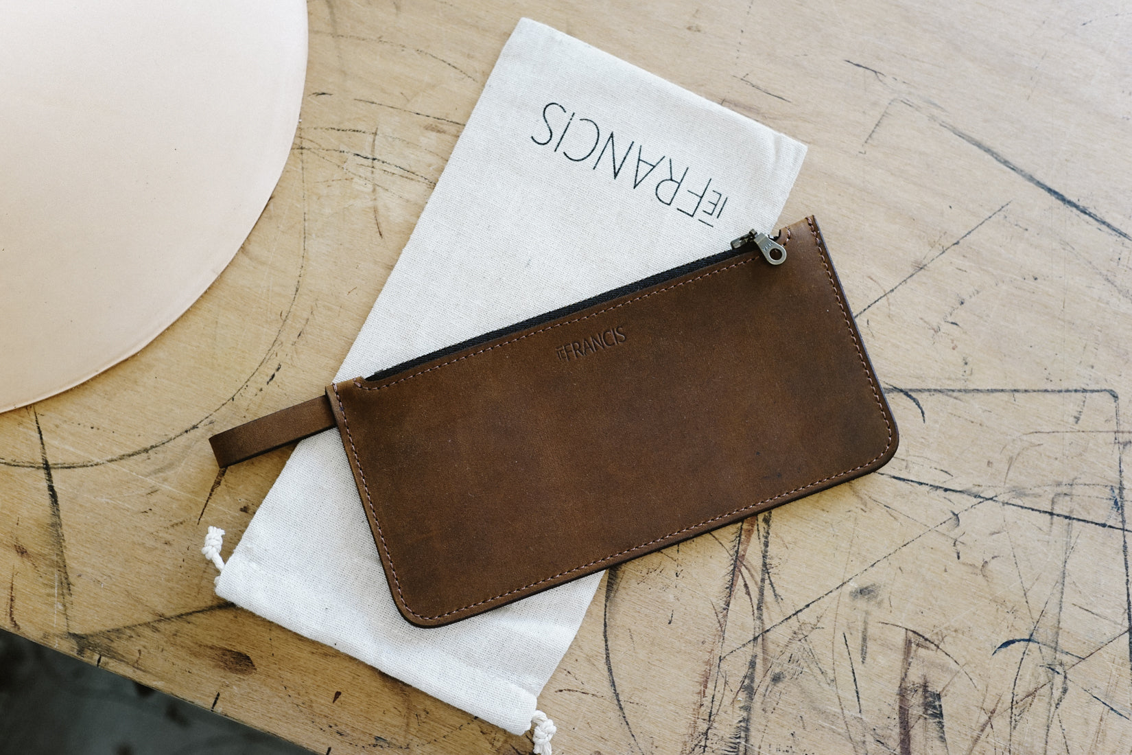 IEFrancis leather goods and accessories handmade in Victoria, Australia