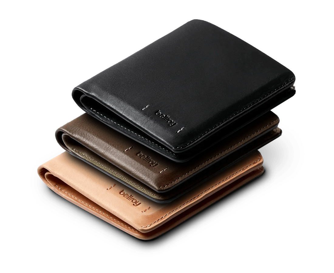 Introducing Bellroy Premium Edition Wallets