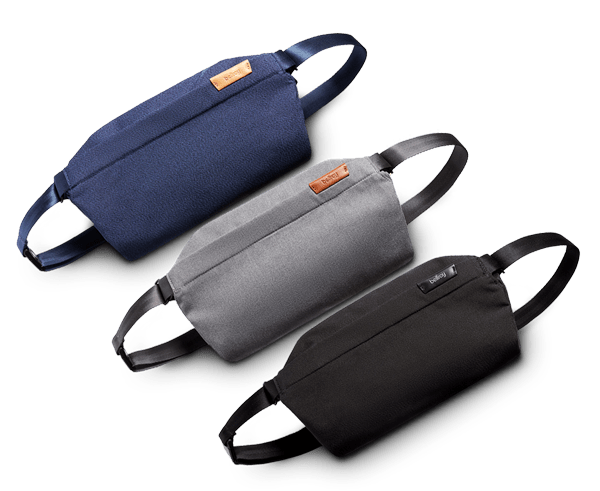 The new Bellroy Sling · An essentials bag for light, hands-free carry