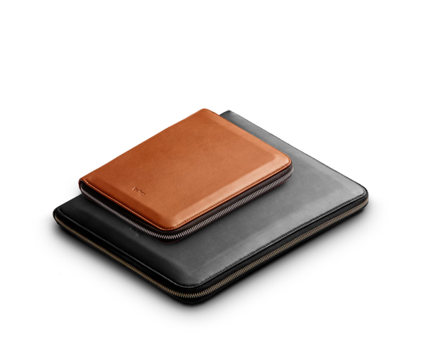 The premium leather Work Folio Compendium by Bellroy