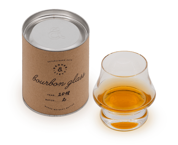 The new Bourbon Glass by Denver & Liely
