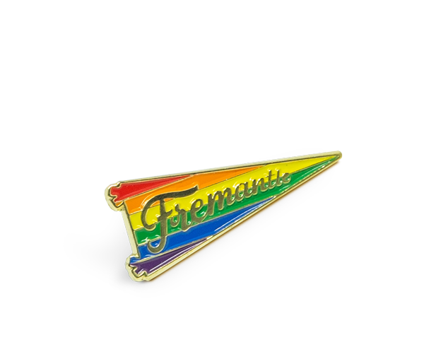 Fremantle Pride Pennant Pin