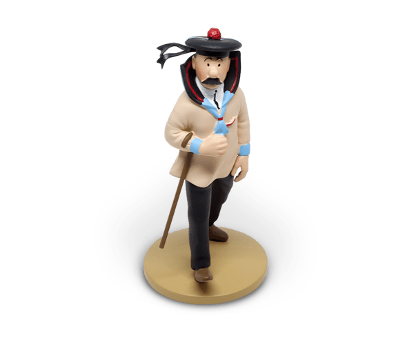 Dupond 12cm resin figurine official Tintin stockists
