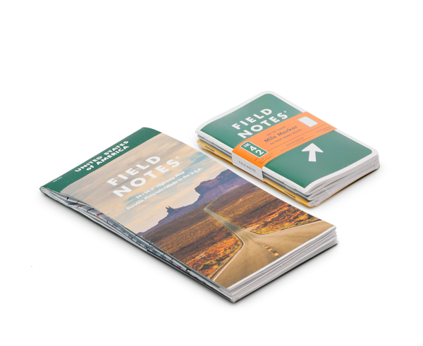 New Field Notes Mile Marker Edition & Highway Map