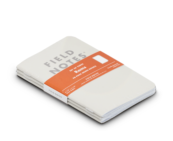 Field Notes 'Rams' Edition · 3-Pack (Dot-Graph paper)