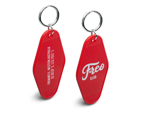 Freo Goods Co Red Key Fob