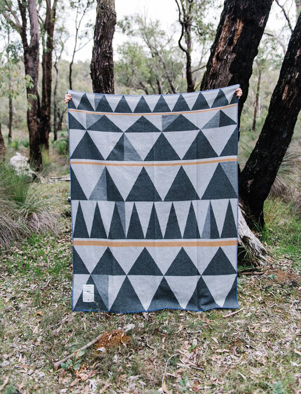 "New collection Ghost Outdoors ""Bush Geometry"" Army Blanket"