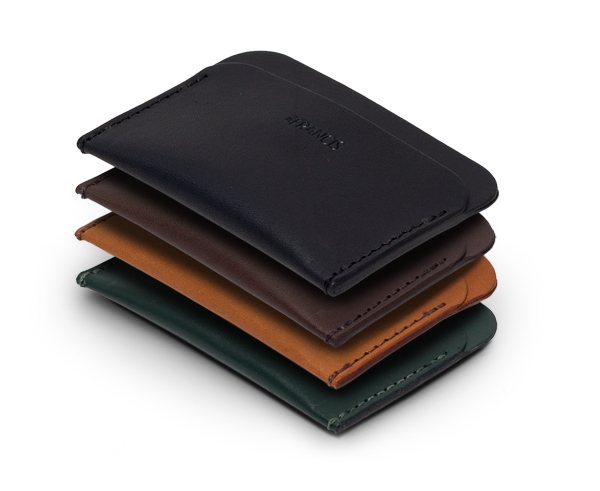 Three Pocket leather wallet by IEFrancis