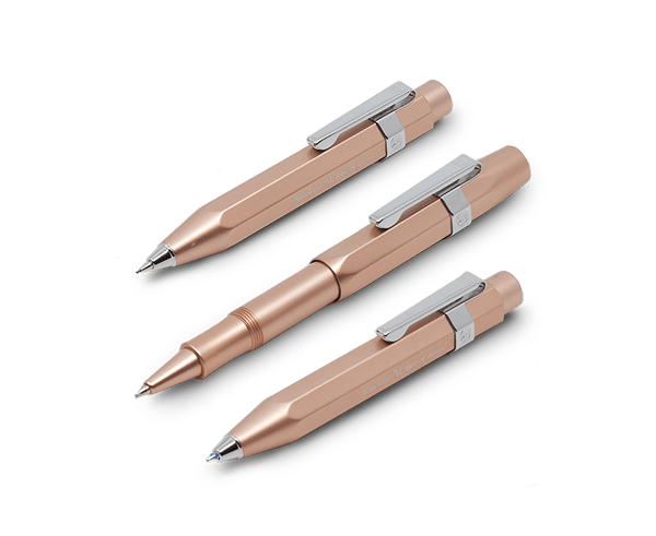 New release Kaweco AL Sport Series in Rose Gold