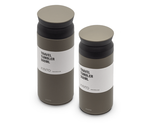Kinto Japan Travel Tumbler in Khaki