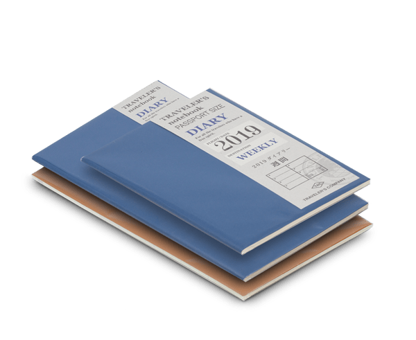 Refills for the second half of 2019 for your Traveler's Journal