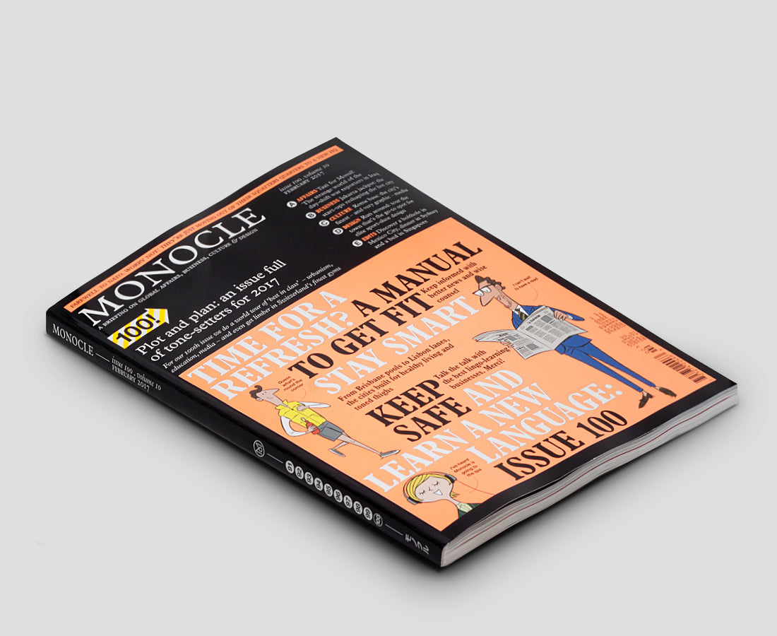Monocle magazine issue 100