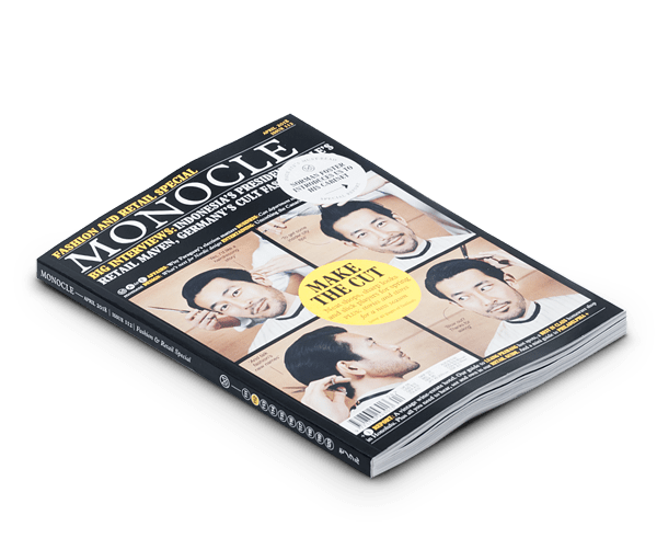 Monocle magazine issue 112 April 018