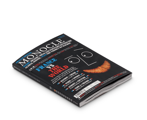 Monocle magazine · Issue 121 March 2019