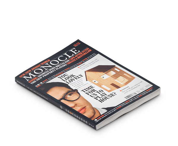 Monocle magazine · Issue 123 May 2019
