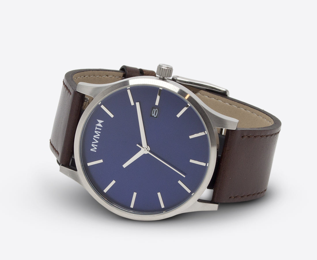 http://www.compendiumstore.com.au/collections/mvmt-watches/products/mvmt-classic-watch-45mm-blue-and-silver-with-brown-leather