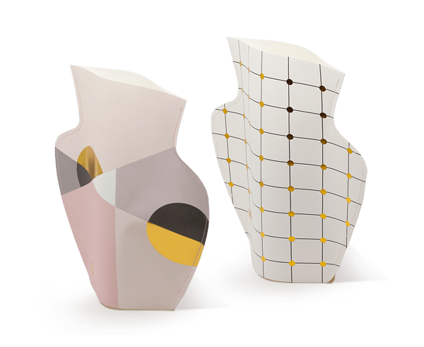 Paper Flower Vases by Octaevo
