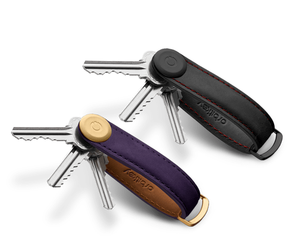 Orbitkey Obsiden Red and Aubergine Purple