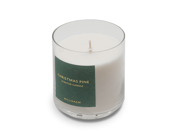 Milligram Christmas Pine Scented Candle