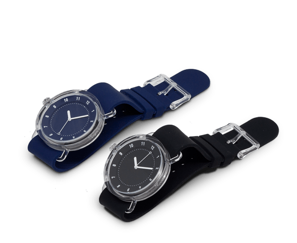 TID Watches No 3 with silicon band