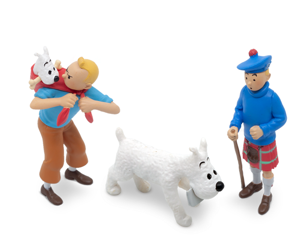 New Tintin PVC Figurines for 2020