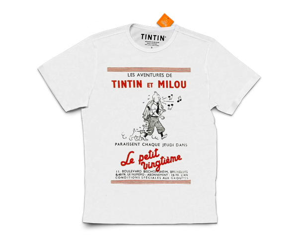 New The Adventures of Tintin T-Shirts