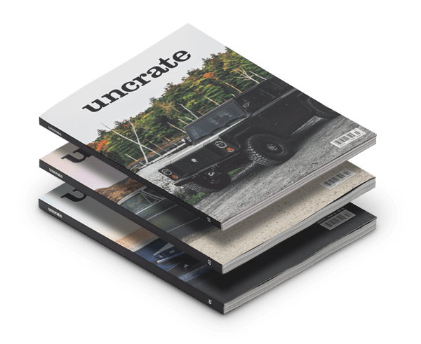 Uncrate Magazine Issues 1, 2 + 3